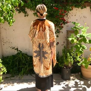 NWT Urban Outfitters Earth-Tone Poncho